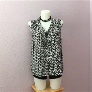 Kate Spade Live Colorfully sleeveless blouse